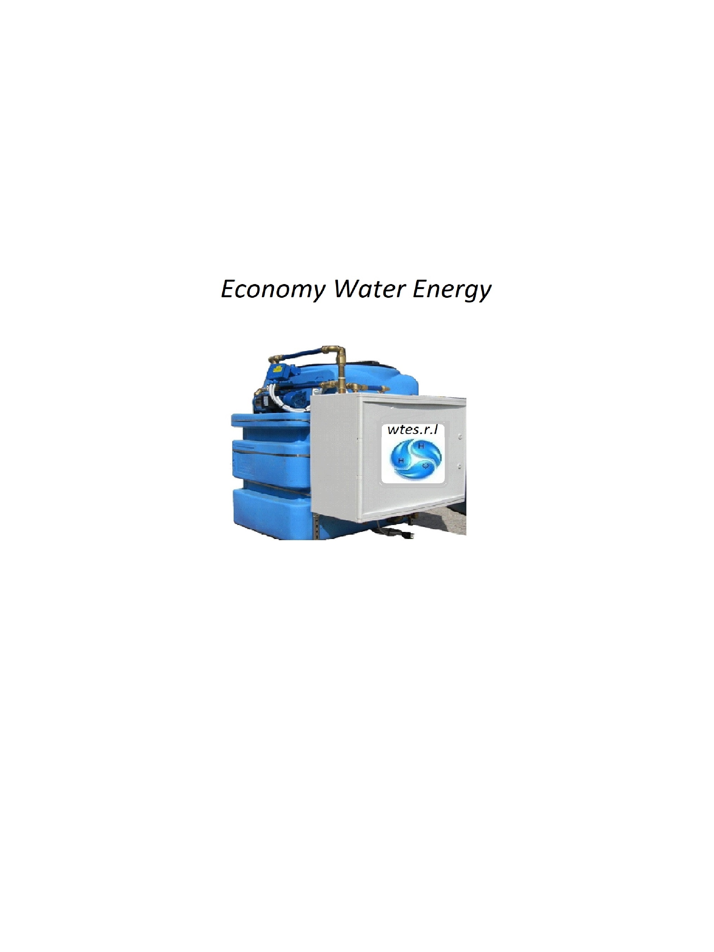 Water Treatmen Ecologic System' Patented Sanitizing Process