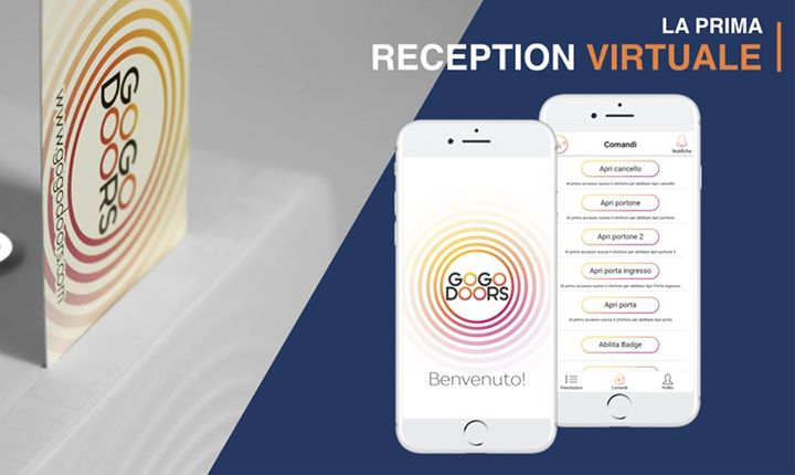 GoGoDoors - La prima reception virtuale