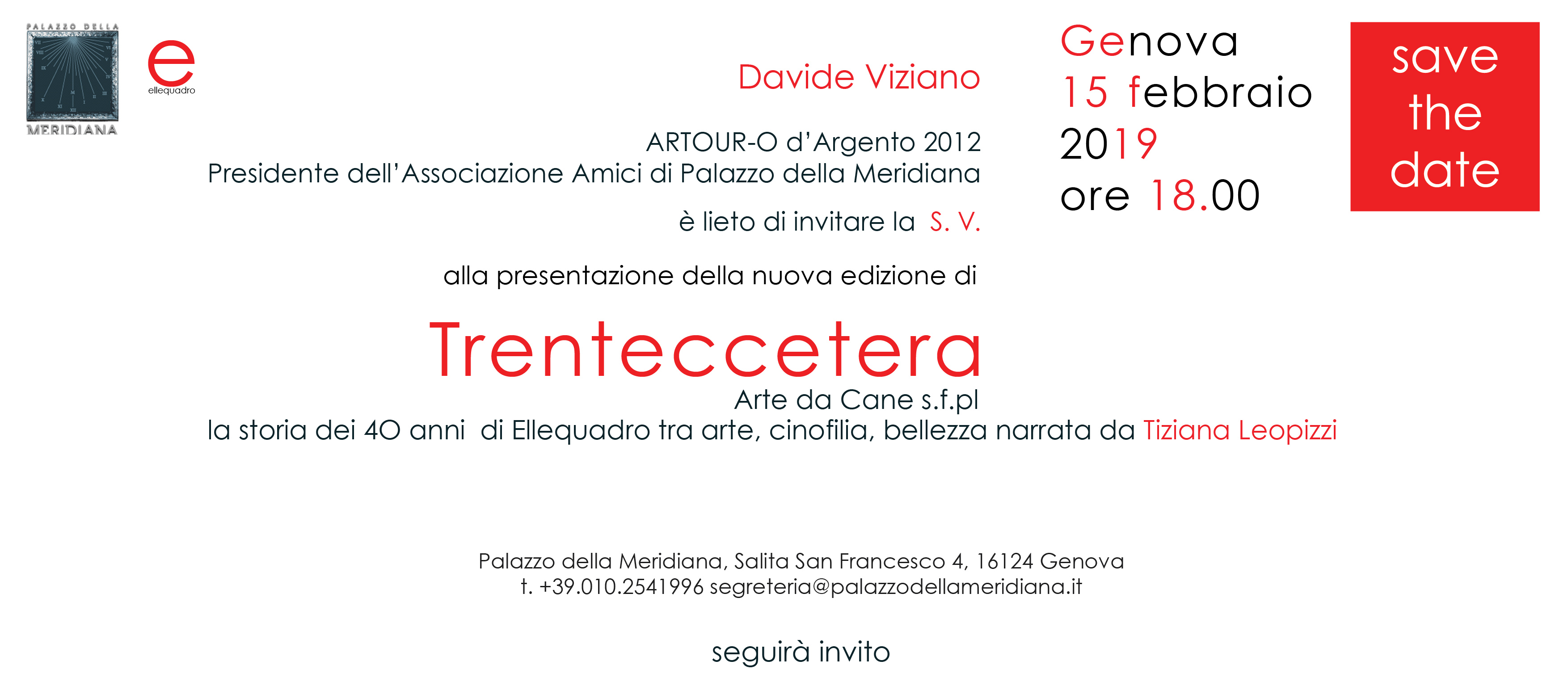 Save the Date Trenteccetera