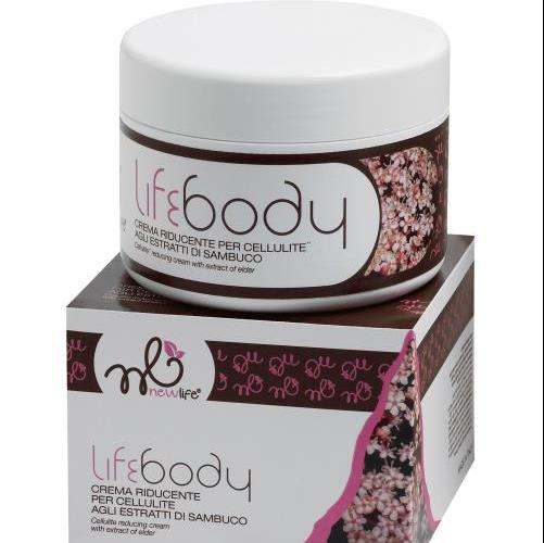 New Life, Lifebody - Crema Riducente per Cellulite